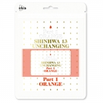 [Pre] Shinhwa : 13th Album - UNCHANGING PART1 'Orange' (Kihno Card Ver.) +Poster