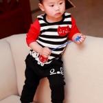 ชุดเด็กSuper CatS(เซท) ไซส์ 13 (เสื้อเด็ก+กางเกงเด็ก)