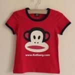 เสื้อผ้าเด็ก ลิงสีแดง ไซส์ 92