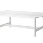 โต๊ะไม้จริง ขนาด 90x150 ซม.สีขาว มีสไตล์ ดีไซน์สวย