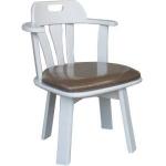 เก้าอี้หมุน สีขาว ดีไซน์น่ารัก สไตล์ญี่ปุ่น