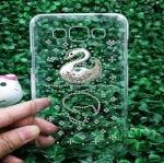 เคส Samsung grand3 เคสฝาหลังประดับคริสตัล รูปหงส์ สวยหรู