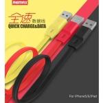 สายชาร์จโทรศัพท์มือถือแบบชาร์จไว เต็มไว รุ่น Full Speed สำหรับ andriod สีเหลือง - Remax 100 %