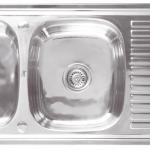 อ่างล้างจาน TEKA รุ่น VIVA 120 2B 1D