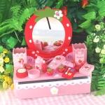 ชุดโต๊ะเครื่องแป้งสตรอเบอรี่ - สีแดง (Mother Garden Red Dresser)