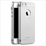 IPAKY CASE 360 3 in 1 iPhone 5 / 5s / SE-Silver