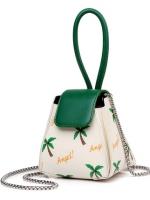 กระเป๋าถือ/สะพาย กระเป๋าใส่ไอโฟน iPhone กระเป๋าทรง3เหลี่ยมมีหูหิ้วและโซ่สายคล้องสะพาย มี 3 แบบค่ะ