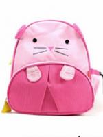 กระเป๋าเป้คุณหนู Linda ลายหนูสีชมพู ทำด้วยวัสดุหนัง PVC ตัวกระเป๋ามี2ช่อง ด้านข้างเป็นตาข่ายใส่ของได้ค่ะ
