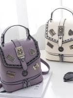 กระเป๋าถือ กระเป๋าเป้สะพายหลังมัลติฟังก์ชั่นใบเล็ก แบรนด์ JOOZ มี 3 สีคือ ครีม ม่วงและดำค่ะ