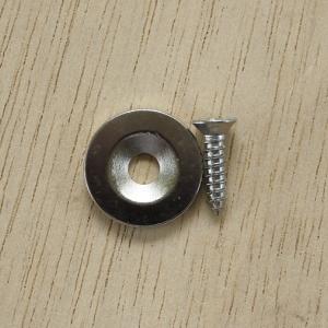 แม่เหล็กโดนัท 19.5 x 2.7 mm + สกรู