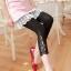 กางเกงลำลองผ้ายืด Legging ตกแต่งลูกไม้ มีหลายแบบให้เลือกค่ะ thumbnail 2