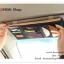GB062 กระเป๋าใส่ของใช้ ใส่แผ่น CD,DVD สวมกับที่บังแดดรถยนต์ มี 4 สี : สีครีม , สีแดงเลือดหมู , สีฟ้า , สีกรมท่า ขนาด : กว้าง 27 x สูง 14 cm. thumbnail 5