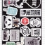 STGP009 สติกเกอร์ Sticker กระดาษเคลือบกันน้ำ ลายการ์ตูน กราฟฟิก วินเทจ สวย เท่ห์ ติดกระเป๋า ของใช้ ตู้ ผนัง ตกแต่งสิ่งของ thumbnail 2