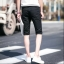 กางเกงขาสั้นสตรีทแฟชั่น Denim : สีดำ thumbnail 9