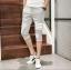 กางเกงขาสั้น3ส่วน JOGGER GREY/WHITE STRIPED thumbnail 3