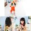 เสื้อผ้าแฟชั่นเด็ก ผ้าชีฟองสีครีม ลายจุด น่ารัก สดใส สไตล์เกาหลี thumbnail 3
