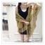 PR041 ผ้าพันคอแฟชั่น ผ้าฝ้าย พิมพ์ลายสวย ขนาด ยาว 190 กว้าง 100 cm. thumbnail 4