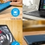 Cube iWork10 Ultimate (Flagship) Dual Boot:Tablet+Laptop 2-in-1 Intel 14nm Z8300 4GB+64GB support Docking Keyboard หมุนได้ ได้ พร้อม USB 3.0 Andorid5.1+WIN10 thumbnail 6