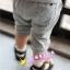 ชุดแฟชั่นเด็ก 2 ชิ้น เสื้อสีเทา สกีนหน้าอก + กางเกง น่ารัก สไตล์เกาหลี(เด็ก 6 เดือน-3ขวบ ค่ะ) ขนาด5 thumbnail 6