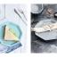 Pre-Order จานเซรามิคทรงแปดเหลี่ยม คาว หวาน มี 8 สี thumbnail 14