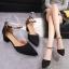 รองเท้า แฟชั่น ส้นสูง สายคล้อง สไตล์เกาหลี J005 thumbnail 2