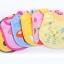 BN020 ผ้ากันเปื้อน ผ้ากันน้ำลาย ลายการ์ตุน น่ารัก ติดแบบแทบตีนตุ๊กแก ขนาด กว้าง 19 กว้าง 31 เซนติเมตร thumbnail 10