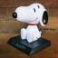 GC008 ตุ๊กตาส่ายหัว Snoopy 1ชุด2ตัว วางในรถยนต์ หรือ ตู้โชว์ สวย น่ารัก thumbnail 4