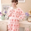 เสื้อให้นม+กางเกงคนท้อง เปิดแบบ C 041 ลายหมีสีฟ้า/ ชมพู/ ส้มแดง (XL อก39นิ้ว) (XXL อก43นิ้ว) thumbnail 9