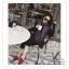 PR069 ผ้าพันคอแฟชั่น ผ้าหนา ช่วงปลายประดับด้วยริ้ว อย่างดี งานสวยคะ ขนาด กว้าง 50 ยาว 180 cm. thumbnail 5