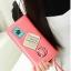 กระเป๋าสตางค์แบบยาว ใส่มือถือได้ สไตล์เกาหลีน่ารัก มีสายคล้องมือ thumbnail 4