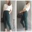 หมดค่ะ:Jessy Pants กางเกงขา 5 ส่วนใส่ทำงานสวยมากค่ะ เอวกลางซิปหน้ากระดุมซ่อน กระเป๋าข้างผ้าหนา ทรงสวย งานตัดเนี๊ยบ ใส่เที่ยว ได้หลายโอกาสเลยค่ะ thumbnail 3