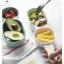 Pre-Order ชามสลัด ชามผลไม้ ของหวาน เซรามิค ทรงไม้ลูกชิ้น มี 4 สี thumbnail 2