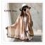 PR028-B ผ้าพันคอแฟชั่น ผ้าไหม พิมพ์ลายสวย น่ารัก งานสวยคะ ขนาด กว้าง 90 ยาว 185 cm. thumbnail 1