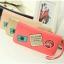 กระเป๋าสตางค์แบบยาว ใส่มือถือได้ สไตล์เกาหลีน่ารัก มีสายคล้องมือ thumbnail 1