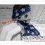 PR077 ผ้าพันคอแฟชั่น ผ้าขนสัตร์(เทียม) พิมพ์ลายสวย หนานุ่ม อย่างดี งานสวยคะ ขนาด กว้าง 60 ยาว 200 cm. thumbnail 5