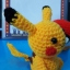 ตุ๊กตาถัก โครเชต์ 001 POKEMON PIKACHU แบบนั่ง ขนาดเล็ก thumbnail 8