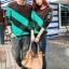 เสื้อคู่ชาย+หญิง น้ำตาลเขียว thumbnail 2