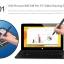 Cube iWork11 stylus Dual-OS: Win10 64-bit+Android5.1 tablet+laptop 2in1 Wacom stylus 10.6 นิ้ว 1080P Intel 14nm Quad Core 4G/64G thumbnail 3