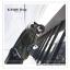 PR083 ผ้าพันคอแฟชั่น สีดำ ผ้าหนานุ่ม ช่วงปลายประดับด้วยริ้ว อย่างดี งานสวยคะ ขนาด กว้าง 60 ยาว 200 cm. thumbnail 6