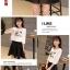 ชุดเสื้อยืดพิมพ์ลายนกฮูก คู่กระโปรง thumbnail 6