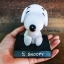 GC008 ตุ๊กตาส่ายหัว Snoopy 1ชุด2ตัว วางในรถยนต์ หรือ ตู้โชว์ สวย น่ารัก thumbnail 5