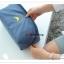GB099 กระเป๋าใส่ชุดชั้นใน กางเกงใน ถุงเท้า ผ้าขนหนู ผ้าอ้อม ของใช้จุกจิกทั่วไป มี 4 สี ชมพู ฟ้า เทา เขียว พร้อมหูหิว งานคุณภาพ thumbnail 19