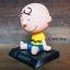 GC008 ตุ๊กตาส่ายหัว Snoopy 1ชุด2ตัว วางในรถยนต์ หรือ ตู้โชว์ สวย น่ารัก thumbnail 3