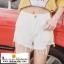 กางเกงยีนส์ขาดขาสั้นสุดแนว มี 3 สีคือ ยีนส์ซีด ขาวและดำ thumbnail 2
