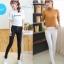 LG044 กางเกงสกินนี้ขายาว ทรงสวย เข้ารูป เนื้อผ้ายืดหยุ่น มี 2 สี สีขาว สีดำ thumbnail 1