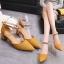 รองเท้า แฟชั่น ส้นสูง สายคล้อง สไตล์เกาหลี J005 thumbnail 5