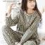 ชุดนอนแฟชั่น ชุดนอนคู่รัก งานผ้าฝ้ายลูกไม้อย่างดีค่ะ thumbnail 1