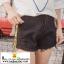 กางเกงยีนส์ขาดขาสั้นสุดแนว มี 3 สีคือ ยีนส์ซีด ขาวและดำ thumbnail 3