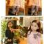 ชุดเซตเด็กหญิง 2 ชิ้น เสื้อ+กางเกง ผ้าเนื้อดีน่ารักสไตล์เกาหลี ( สีชมพู ) thumbnail 4