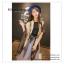 PR050 ผ้าพันคอแฟชั่น ผ้าไหม พิมพ์ลายสวย ขนาด ยาว 180 กว้าง 90 cm. thumbnail 3